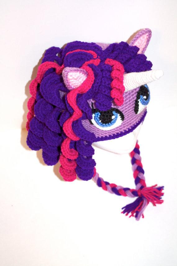 Crochet Pony Hat Pattern Crochet Unicorn/ Pony Hat