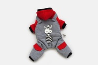 2014 new arrival high quality fashion dog coat, pet clothes for dogs For zebra  Design free shipping whole sale