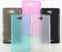 For Xperia E2 Matte TPU case,New Matte Pudding Soft TPU Gel Skin cover Case For Sony Xperia E2