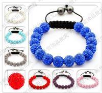Free Shipping New fashion Jewelry one direction wrist band Shamballa Bracelet for women/men gift