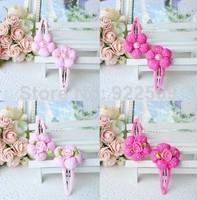 New Style Beautiful Headband Hairband Baby Girls Flowers Headbands Kids' Hair Accessories Baby Christmas Gift 5 pair/lot