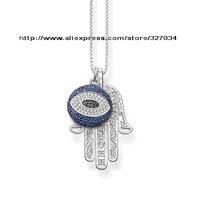 wholesale women gift  men gift necklacesKarma Beads necklaces tsa0110 Mattie's hand and Turkish evil eye