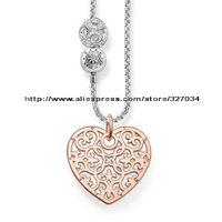 wholesale women gift  men gift necklacesKarma Beads necklaces tsa0108 heart
