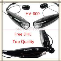 HV-800 Wireless Stereo Bluetooth Headphone Headset Neckband Style Earphone hv-800 for iPhone Nokia HTC Samsung LG Cellphones DHL