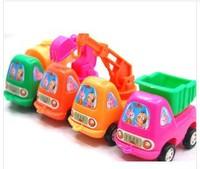 FREE SHIPPING,Child's plastic  truck toy model Mini engineering vehicle truck , 4pcs/lot