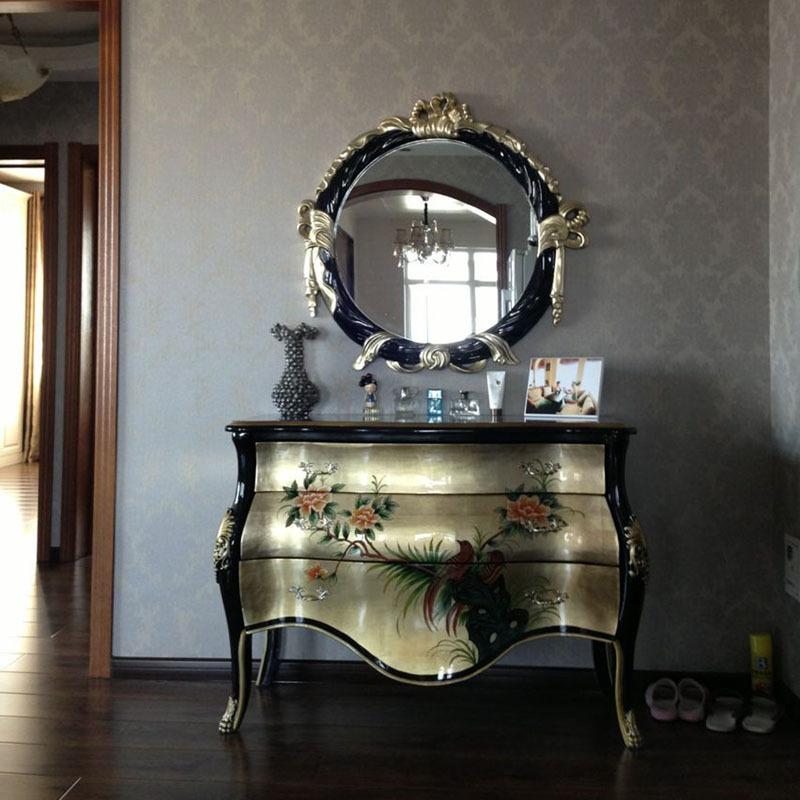 Compra plata muebles pintados online al por mayor de - Muebles pintados en plata ...