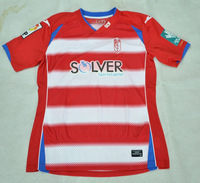 2014/15 Thailand quality Granada home red white La Liga Men soccer jerseys Football Futbol Kit Just shirt