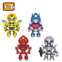 LOZ Diamond Blocks Toy Robot Series Building Blocks Sets Model Educational DIY Assemblage Bricks Toys Gift Box
