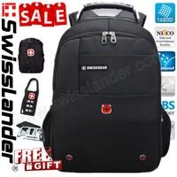 ,SwissLander,swiss lander 15.6 inch men laptop backpack,laptop backpacks,computer bagpack for,notebook,w/ rain cover,lock,1491