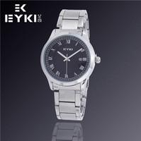 EYKI Promote New Luxury Fashion Men Watch, Automatic Date, Waterproof Watch, Steel Quartz Watch, Free Shipping