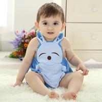 Newborn Baby Boys Girls Cartoon Mickey romper Short sleeves bodysuits Infants one-piece bodysuit suit 0-24M