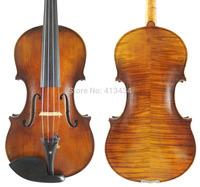 "Antique Oil Varnish Guarnieri 'del Gesu' 1743 ""Cannon"" 4/4 Violin #7071"
