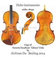 """Antique Oil Varnish Stradivari 15"""" Viola #7020 European Spruce & Maple Professional level"""