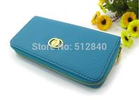 2014 Factory Direct! L-108 Miss Han Ban Ms. single pull purse wallet lady wallet pu multi-card wallet Ms. Long