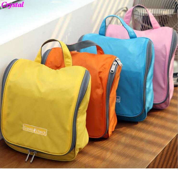 Woman Toiletry Makeup Kit Storage Check Waterproof Cosmetic Bag Picnic Wash handbag Multifunctional Organizer travel bag N2(China (Mainland))