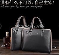 2014 NEW ARRIVED HOT SELL Men Travel Bags Shoulder bag handbag computer Business bag Briefcase Leather Men Messenger bag #5486