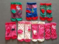 Free shipping peppa pig socks mix designs george pig sock baby cloting apparel