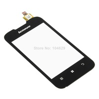 Free shipping Black Relacement Touch Screen Digitizer Glass Lens Fit For Lenovo A66 B0460 P