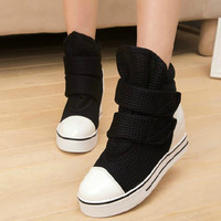 2014 Hot Autumn Summer boots women summer shoes women platform shoes velcro women flats NX85
