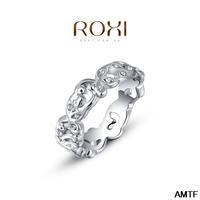 2014 Unisex Plant Anel Rings Aneis Christmas Gift Classic Genuine Austrian Crystals Fashion Kiss Fish Ring 100% Man-made Big Off