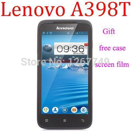 Original lenovo a398t Android 4.0 Smartphone 4,5 zoll bildschirm sc8825 Dual-Core-1 GHz dual-sim-wifi handy