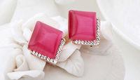 Italina Rigant Geniune Austrian Crystal earring/Crystal Pendant Earrings With Austrian Crystal Stellux
