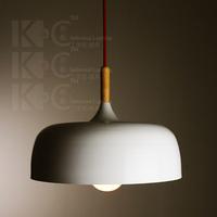 Restaurant lamp brief living room lights personalized white pendant light lamp cover lamp