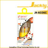 JK-6036C, electrician screwdriver set(CR-V 31in1 screwdriver set with socket) ,CE Certification.