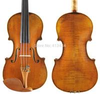 Copy Antonius Stradivarius 1716 Concert 4/4 Violin Antiqued Oil Varnish #4 Professional handmade antique Violin