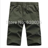 Hot-sale! New Arrival! Hot-sale! New Arrival! 2014 Men's Beach Shorts 100% Cotton Washed Large Yard Shorts,  Free Shipping!