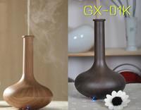 2014 New Fashion Mini LED Night Light Ultrasonic Aroma Diffuser Mist Humidifier Essential Oil Diffuser GX-01K Free Shipping