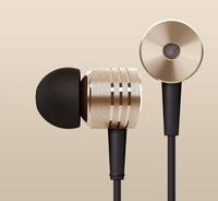 New Original Gold XIAOMI 2nd Piston Earphone 2 II Headphone Headset Earbud with Remote & Mic For MI3 MI2 MI2S MI2A Mi1S M1 Phone