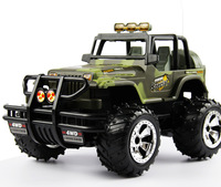 Free shipping remote control off-road jeep off-road vehicle model with rechargeable remote control car model toy 1:14