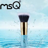 MSQ Elaborate  Loose Powder Mini- Makeup Brushes Professional Cosmetic   Blue  Make Up Brush  Best Quality!