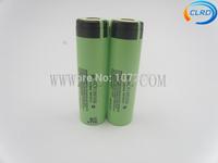Free shipping 2pcs/lot 3400mah 3.7v  For Panasonic NCR18650B battery for e-cigarette