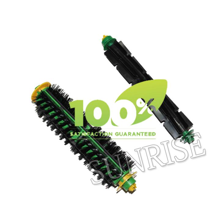 Replacement Bristle Brush and Flexible Beater Brush for iRobot Roomba 500 Series Cleaner 560 570 580(China (Mainland))