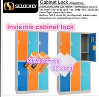 Hign quality hot sale cabinet door security locks invisible locker lock