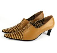 Genuine Leather Shoes Low Heel Shoes Woman Pumps Toe Pumps Woman Vintage Shoes