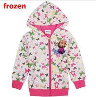 The new 2014.Frozen jacket.The girls who garments.Girls winter coats.