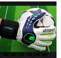 Professional soccer goalkeeper gloves latex gloves, top goalkeeper