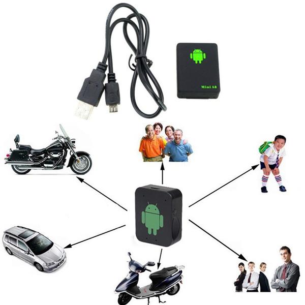 Useful Mini Global Real Time GSM GPRS GPS Tracker For Kid Pet Car Tracking Tool(China (Mainland))