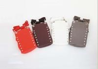 Top quality PU barber's tool bag, Scissor Bag Salon Hairdressing Holster, Pouch Rivet Clips Holder Case with Waist Shoulder Belt
