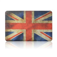 """Wholesales 11 Designs Color Leopard&Flag&Glow in the dark  Rubberized Cover Case For Macbook Air 11.6""""13.3"""" A1465 A1466"""