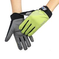 (1pair/lot)Full-Finger Fitness Glove New Design Men's High Elastic Slip Climbing Exercise Riding Mittens Sports Gloves