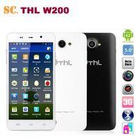Original 5 Inch HD IPS Screen THL W200 Android 4.2 Smartphone 5.0 inch MTK6589T Quad Core 8.0 MP Camera 1GB RAM 8GB WCDMA