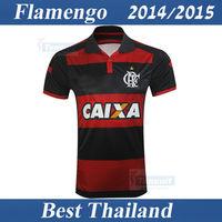 Flamengo RJ 14 15 Shirt Best Thai Quality Soccer Jersey Home Team Brasileiro Serie A Football Sport Clothing