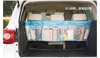 1pcs Blue Big Capacity Oxford Car Trunk Organizer Bag 110.5*34cm