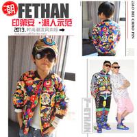 2014 Winter Children Cartoon Down Coat Female Male Child Fashion Outwear