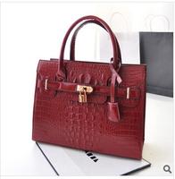 """Dinner ladies' bag 2014 new crocodile grain fashion female bag bag shoulder bag shoulder strap bag """"women messenger bags"""