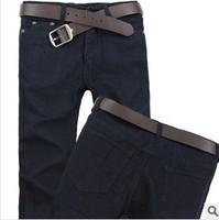 2014 brand new  men's jeans straight leg jean causual  jeans men  fashion denim pants free shipping #2403
